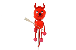 Devil made of balle
