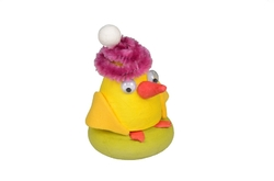 Chicken with hat 58mm, 1pc in bag