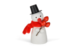 Snowman with hip 82mm, 1 pc. in bag