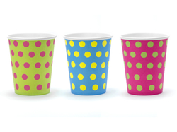 Paper beaker 200ml, 6 pcs. in bag