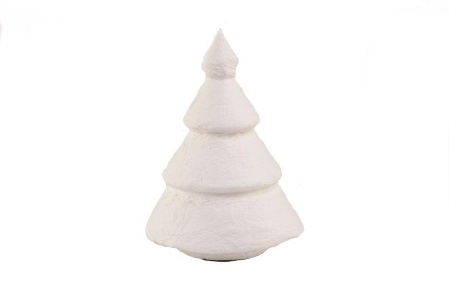 Christmas tree - height 53mm - 10 pcs. in bag
