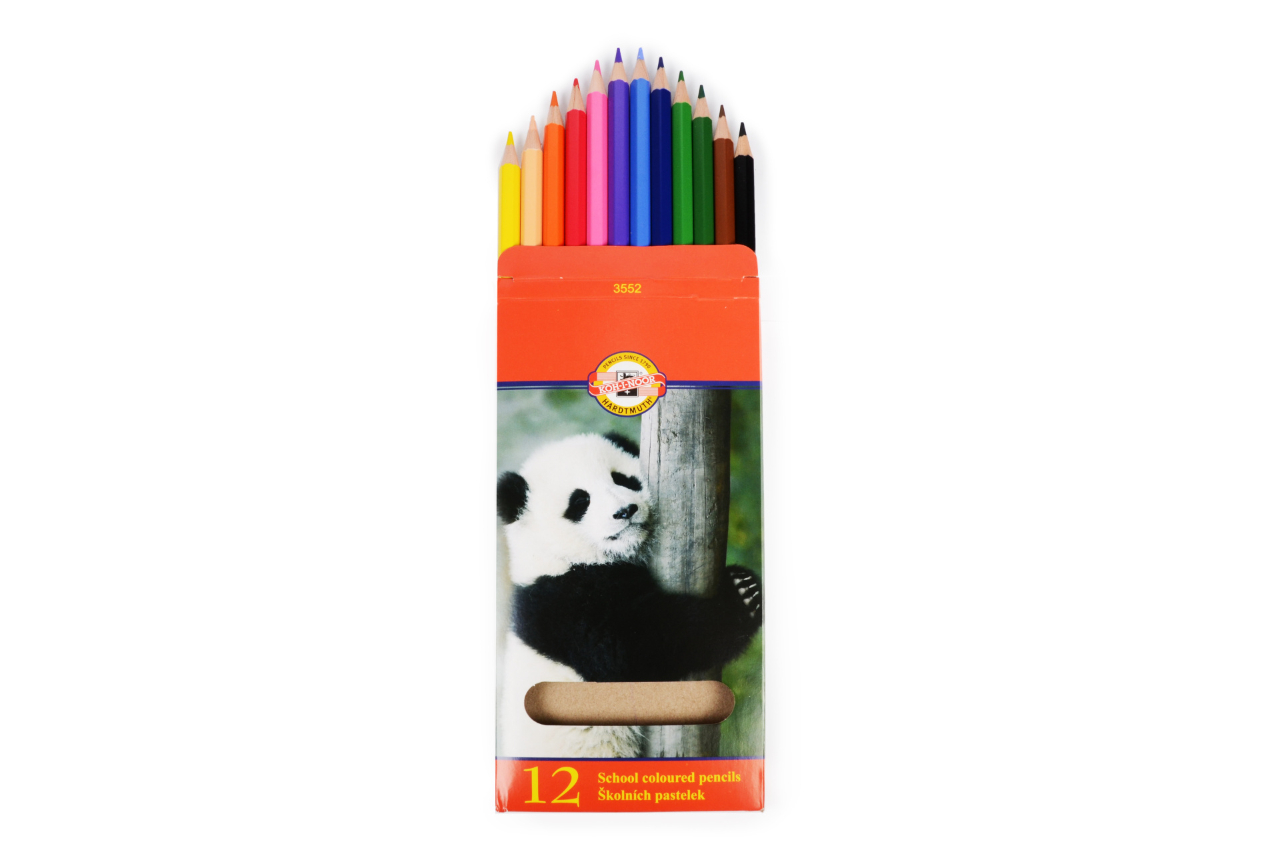 Colored pencils, 12 pcs.