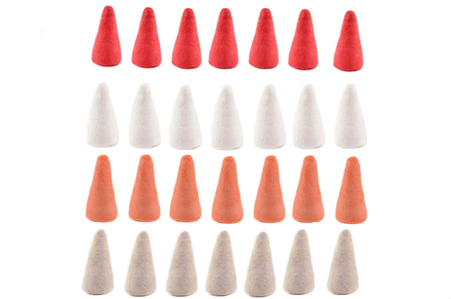 Horn, 14mm, 10pcs in bag